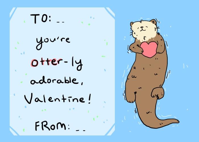 Bella's Valentine Card